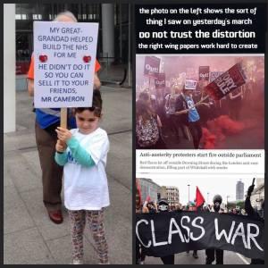 protest - child