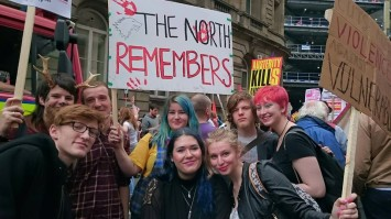 protest the  north