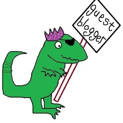 dino sign - guest blog